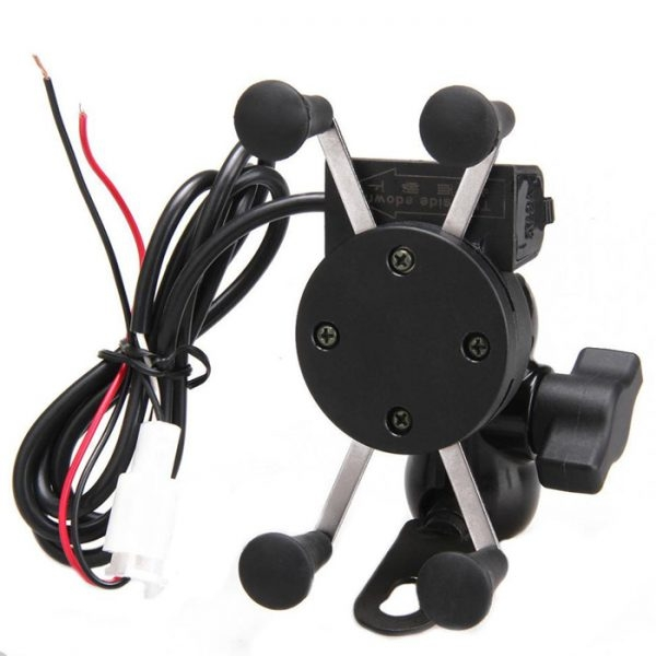 Motorcycle Bike Mobile Phone Charger With Mobile Holder For Phone GPS Mobile