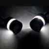 3C Handle Bar End LED Bike Turn Signal Indicator Blue Light Royal Enfield Bullet