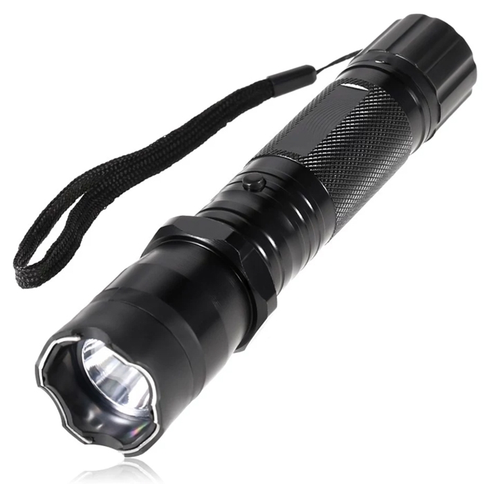 Outdoor Travel Stun Flashlight Electronic Torch Shockers 1.6 Million Voltage Rechargeable Stun Flashlight Self Defense Guard Torch, Women Safety, Self Defense Current Torch