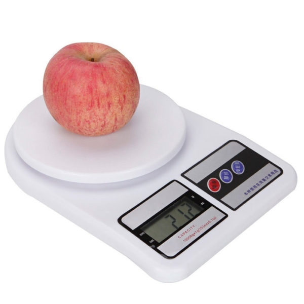 10Kg x 1g Digital Electronic Kitchen Scale Electronic Balance 10000 gm Weight Scale for Bodybuilding Diet, Postage Parcel Weighing Weight