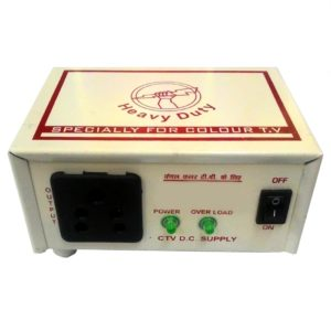 12V DC to 220V AC 100 Watt Converter/ Inverter For Home, Car, Solar Panel, Color TV, Mobile Charger, CFL