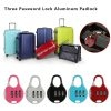 3 Digit Re-Settable Code Password Number Lock Combination Bag Padlock
