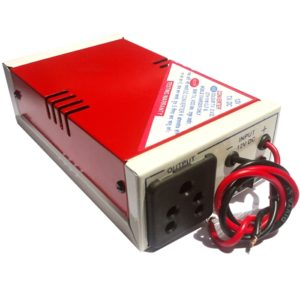 12V DC To 220V AC 120 Watt Converter/ Inverter For Home, Car, Solar Panel, Color TV, Mobile Charger, CFL