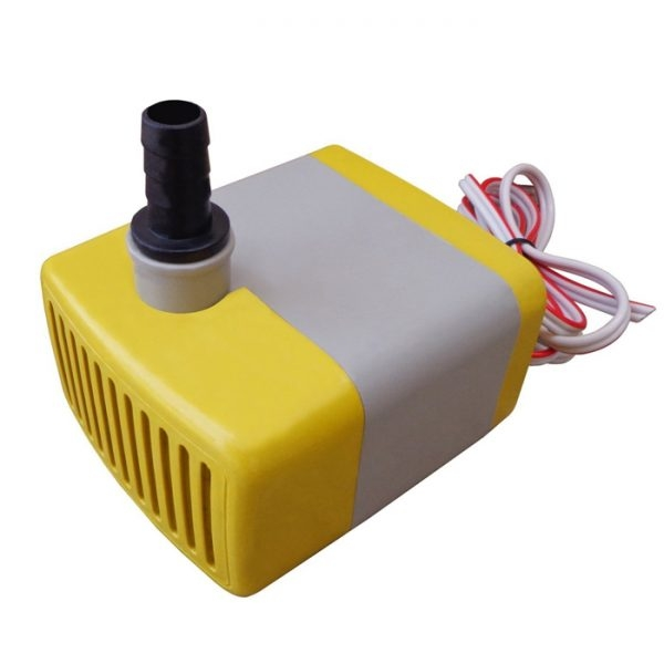 DC 12V Submersible Pump For Desert Air Cooler, Aquarium Water Pump, Fountain, Pond Fish Tank Pump, Power Head, For Solar Panel, 12 Volt Submersible Pump 24 Watt, Lift Water Up To 1.2 Meters