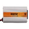 200 Watt Car Auto Converter/ Inverter 12V DC to 220V AC + USB 5V For For Home, Car, School Bus DVR Camera, Solar Panel, Color TV, Mobile Charger, CFL