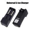 Universal Dual Battery Charger For Li-Ion 3.7V 18650/ 16340/ 14500/ 17670/ CR123A Battery