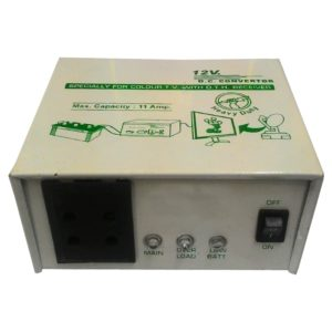 12V DC to 220V AC 150 Watt Converter/ Inverter For Home, Car, Solar Panel, Color TV, Mobile Charger, CFL