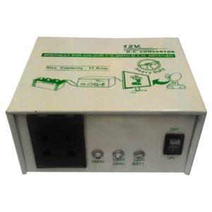 12V DC to 220V AC 150 Watt Converter/ Inverter For Home, Car, Solar Panel, Color TV, Mobile Charger, CFL