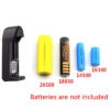 Universal Battery Charger For Li-Ion 3.7V 18650/ 16340/ 14500/ 17670/ CR123A Charger
