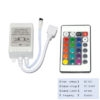 24 Key IR Infrared Controller 12V DC For 3528/ 5050 RGB LED Strip Light, 12V DC 6 Amp