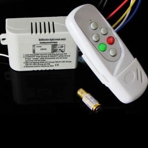 Way Remote Control Switch ON/OFF Lamps/Fan or Any Other Loads-AC 220V