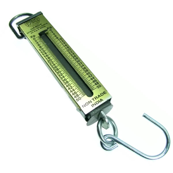 50Kg Capacity Handy Suspension Weighing Scale Machine For Luggage/ Scrap, Hook Scale, Portable Weighing Scale