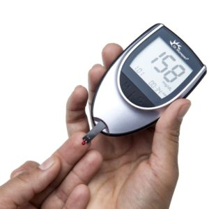 Dr. Morepen GlucoOne Blood Glucose Monitor System Glucose Meter BG03 + Free 25 Strips