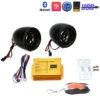 Bluetooth Motorcycle Anti Theft Alarm With Bluetooth/ MP3/ FM/ AUX/ TF Card Reader Sound System With With 2 Speakers, Remote Control