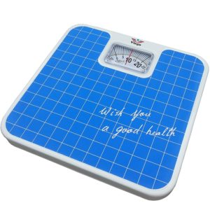 Personal-Analog/ Manual Weight Machine Body Fitness Weighing Bathroom Scale Weight Machine, Square Display Large Surface Weighing Scale Up To 120 Kg
