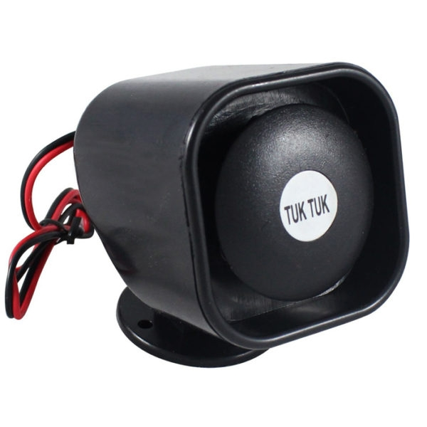 Car Auto Reverse / Back Tuk Tuk Horn Siren For Car Reverse Safety Device, 12V DC