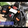 Heavy Duty Customized Throwover Saddle Bag, Shifter Bag for Royal Enfield Harley BSA Norton
