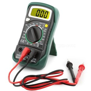 MASTECH MAS830L Handheld Digital Multimeter with LCD Back Light