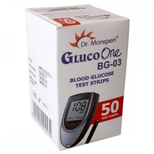 Dr. Morepen Gluco One Blood Sugar 50 Test Strips