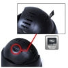 24 IR Indoor Outdoor Independent CCTV Camera/ CCTV Dome Camera With Card Slot Live TV DVR Output
