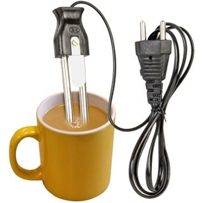 New Electric Mini Small Coffee / Tea / Water / Milk Heater Boiler Immersion Rod