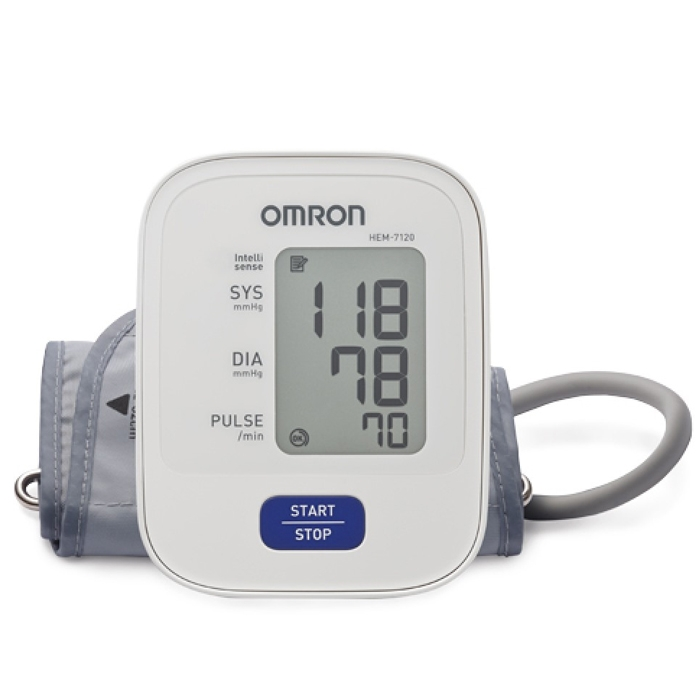 Omron Blood Pressure Monitor HEM-7120 Very Highly Accurate And Excellent Quality For Upper Arm