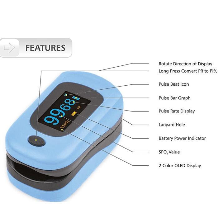 MEHAR Ready OXY Model (OLED) Fingertip Pulse Oximeter/ Oxi-Meter,Finger Tip  Pulse Oximeter SpO2 Heart Rate Monitor Blood Oxygen Sensor Meter, FDA