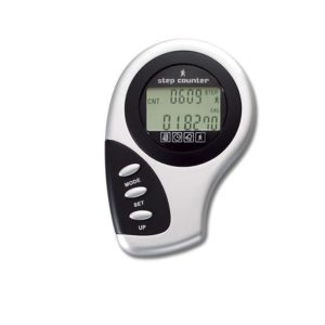 Pedometer Alarm Personal Digital Clock Step Counter