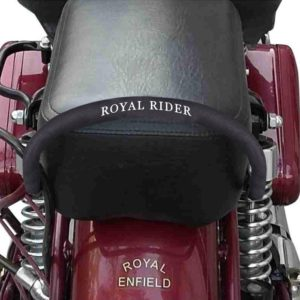 Backrest Pipe Sponge Cover For Electra Standard Classic Royal Enfield 350/ 500 Bullet