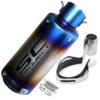 SC Project Rainbow Exhaust Silencer Pipe 51-60 mm Muffler Universal For All Bike