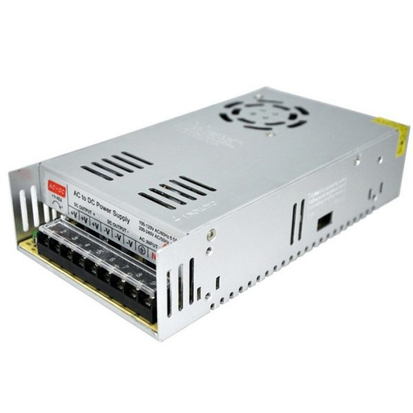 12 Volt 30 Amp, 360W SMPS/ 12V 30A Power Supply, SMPS, Driver, Switch Power Supply Driver, SMPS LED Strip, CCTV Power Supply, Input 90~240V AC Output 12 Volt 30 Amp DC