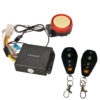 XENOS Motorcycle Bike Anti-Theft Security Alarm System With Double Remote Control 12V Kit For All Bikes/ Scooter