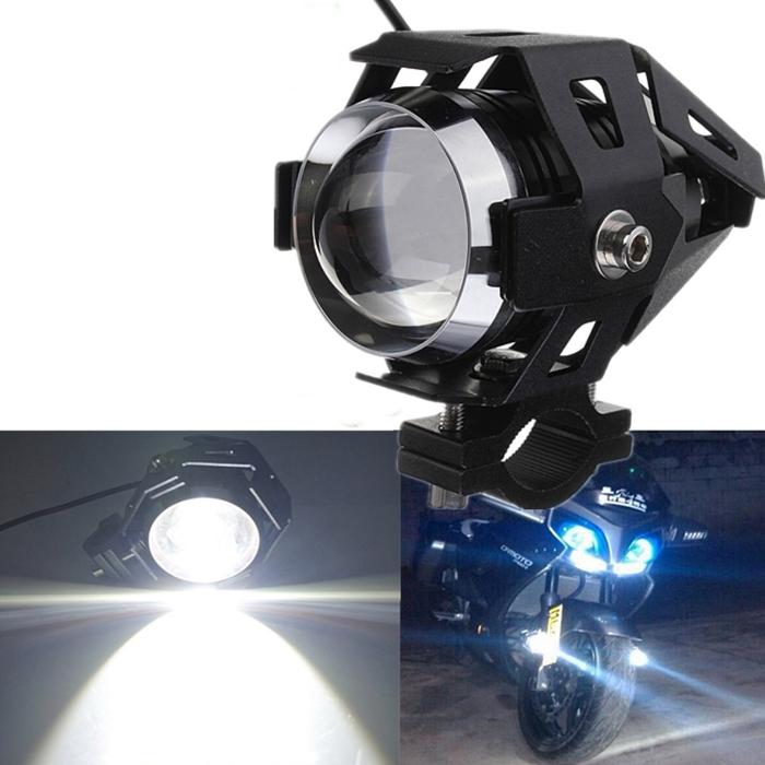 2PCS 125W Motorcycle CREE U5 LED Driving Headlight Fog Lamp For BMW /& Switch US
