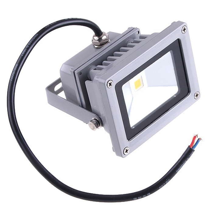 Waterproof 10W LED Flood Light Pure White AC 85-264V For Indoor & Outdoor Use