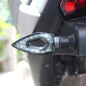 Universal Heart Shape 11 LED Turn Signal Indicators Light Lamp For All Indian Bikes/ Motorcycle