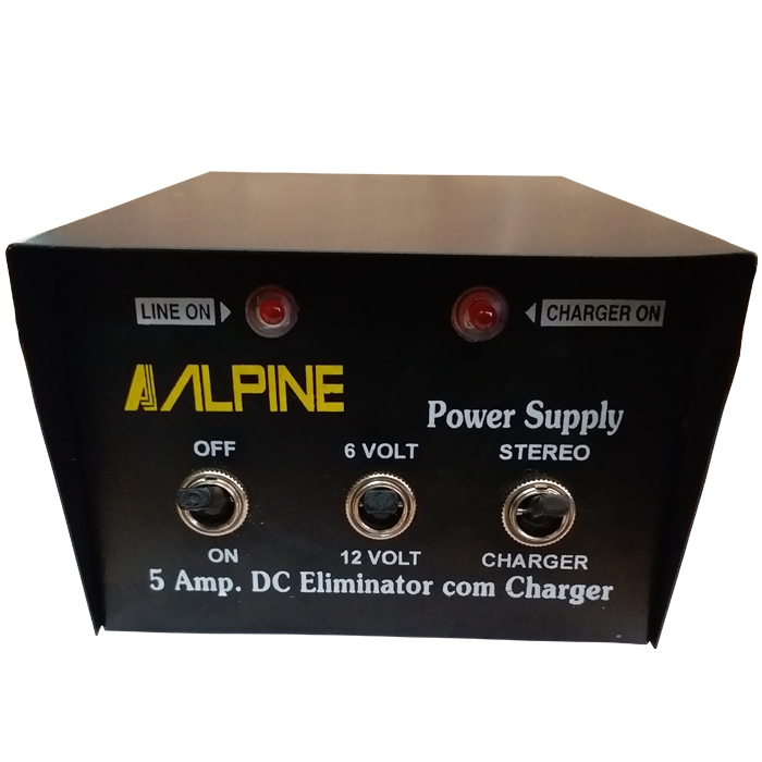 12V & 6V 5A Battery Charger Eliminator 5 Amp Transformer Copper Winding, 220V AC Power 12 Volt/ 6 Volt 5 Amp Battery Charger/ Power Supply