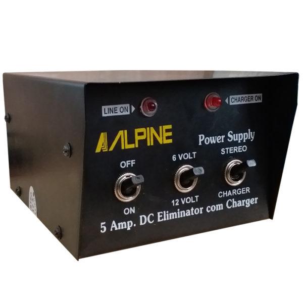 12V & 6V 5A Battery Charger Eliminator 5 Amp Transformer Copper Winding, 220V AC Power 12 Volt/ 6 Volt 5 Amp Battery Charger/ Power Supply