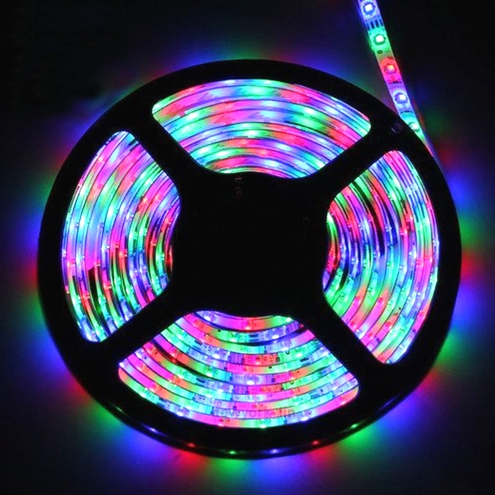 Multi Color 5 Meter SMD 3528 LED Flexible Strip Tape 300 LED Light For Home Decor, Automobile, Indoor & Outdoor Lighting Rope + Free 12 Volt DC LED Driver
