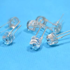 Super Bright 8mm Straw Hat 0.5W, 8 mm LED Light Emitting Diodes Lamp LEDs for DIY Projects
