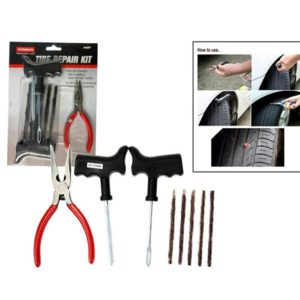 Coido 6081 Tyre Puncture Repair Kit For All Tubeless Tire/ Tyre of Cars & Bikes