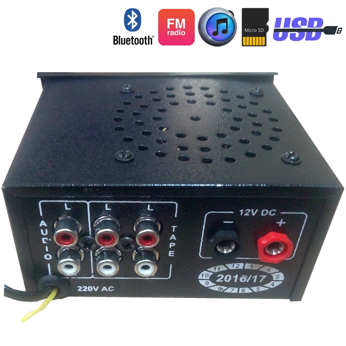 Bluetooth Acdc Stereo Audio Lifier Mp3 Player Module With Rhtrpmart: 12 Volt Radios With Speakers At Gmaili.net