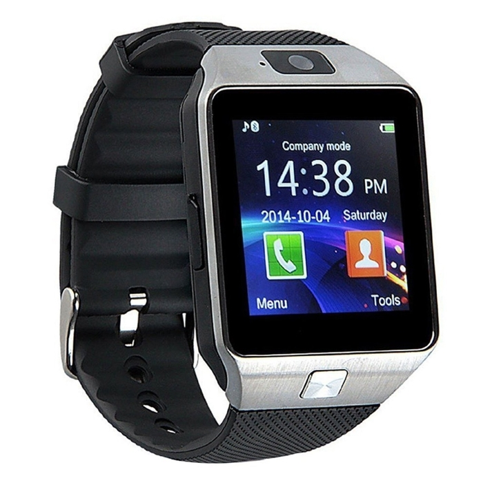 DZ09 Smartwatch Phone For Android IOS Bluetooth Wrist Watch, Camera, Pedometer With Sim Card & Memory Slot