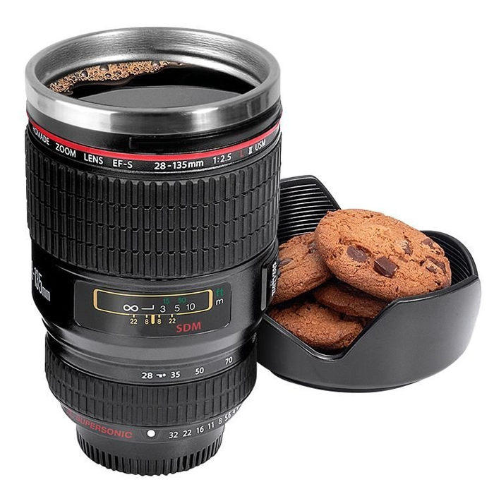 Vacuum Big Size Cup Steel Travel 28 Tea New Coffee Camera Thermos Flasks Lens Stainless Esf 400ml 135mm Mug jqpSUVzGML