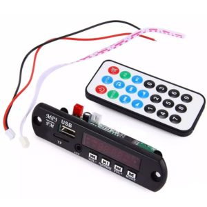 Stereo Music Audio Kit FM, USB, AUX, SD Card, MP3 Decoder Module, Dancing Display With Fully Remote Control - VTF-108