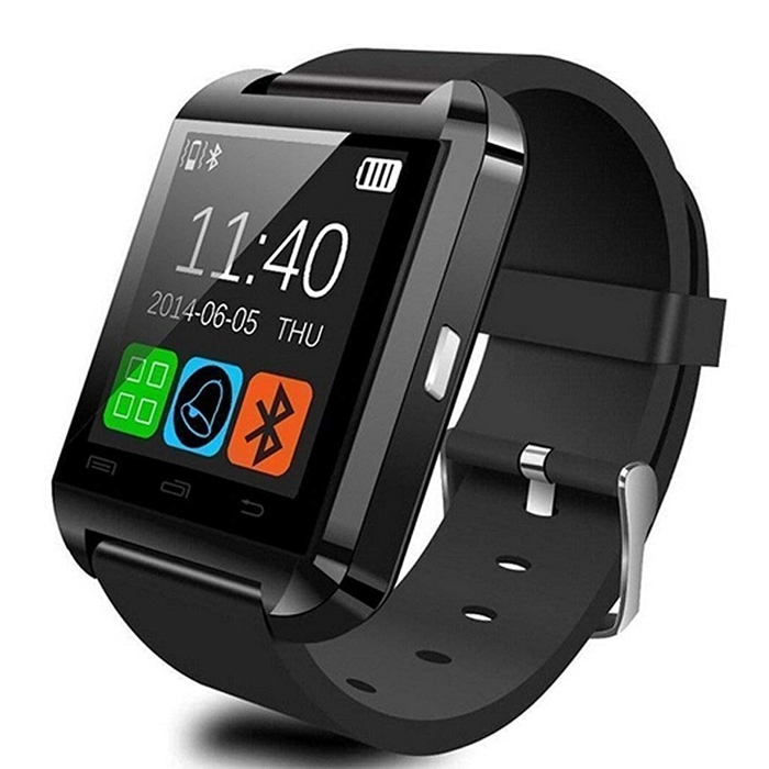 U8 Smartwatch Phone For Android, IOS Bluetooth Wrist Watch, Remote Camera, Pedometer, Calculator