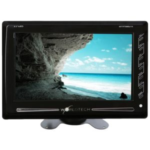 "WORLDTECH LED TV 9"" / 9.5"" USB/ Memory Card/ Camera/ AV IN-OUT, Monitor LCD Screen For Automobile, CCTV Screen & Home"