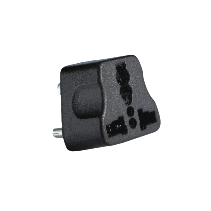 UK/ US/ EU/ AU International Universal Travel Plug Adapter to Indian 3 Pin Power Plug / Converter