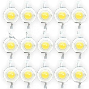 3 Watt SMD LED Pure White High Power 220LM LED Lamp Bulb, Ultra Bright 3W SMD LED Diode