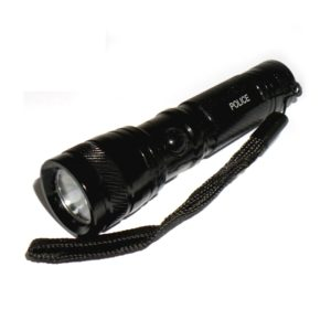 1.5 Volt Mini Waterproof LED Flashlight Torch Box Pack Aluminium Alloy Handheld LED Torch