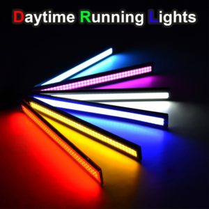 Daytime Running Lights LED DRL Universal COB Waterproof 9W LED 12V, Fog Light 17 CM - 2 Pcs
